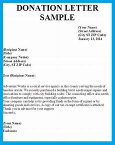 Sample Letter Of Donation Sample Letter Asking For Donation Donation Request