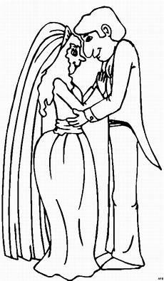 Malvorlagen Gratis Hochzeitspaar Braut Und Braeutigam Ausmalbild Malvorlage Gemischt