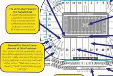University Of Michigan Big House Seating Chart A Judgmental Seating Chart Of The Big House