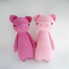pig with backpack amigurumi pattern