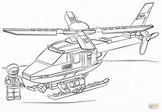 Malvorlagen Polizei Helikopter Lego Helicopter Coloring Page Free Printable