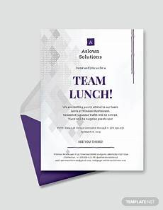 Lunch Invitation Message Free 22 Lunch Invitation Designs Amp Examples In Psd Word