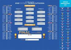 Fifa World Cup Russia Wall Chart World Cup 2018 Russia Table Schedule Hd Wallpaper