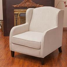 living room furniture fabric wingback club chair