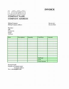 Invoice Template Uk Doc Invoice Template Uk Word Invoice Example