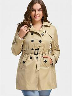 plus size trench coats for 3x 35 2020 plus size trench coat in light khaki zaful
