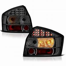 Audi A4 Smoked Lights 02 05 Audi A4 S4 4dr Sedan Euro Led Lights Smoked