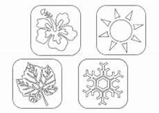 Vier Jahreszeiten Malvorlagen Ausmalbilder Jahreszeiten Calendar June