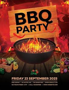 Chicken Bbq Flyer Template 16 Cookout Flyer Designs Amp Templates Word Psd Ai