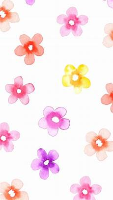Watercolor Flower Wallpaper Iphone by Watercolor Flowers Iphone Wallpaper