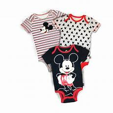 mickey mouse baby clothes doctor disney mickey mouse infant boy s 3 pack bodysuits