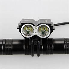 Electron Led Bike Lights 7000 Lumens 2x Xm L U2 Led Cycling Bike Bicycle Light Head