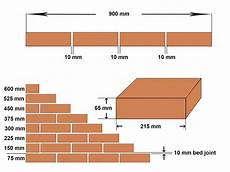 Standard Brick Size Chart Brick Vector Picture Brick Sizes