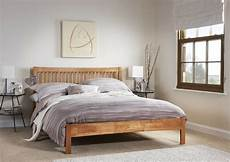 agna solid wood bed frame shaker style various sizes and