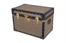 Mossman Original King Trunk Storage Box Chest Steamer by Original Mossman Made Harris Tweed Trunks 163 109 99