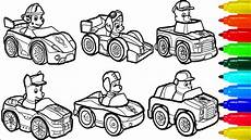 paw patrol by cars coloring pages colouring pages for