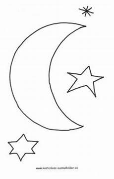 Malvorlagen Mond Und Sterne Malvorlagen Ausmalbilder Mond Ausmalbilder Himmel