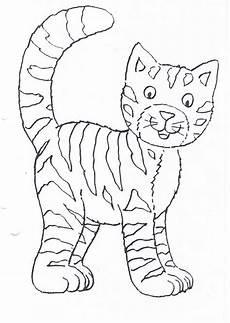 Ausmalbilder Dicke Katze Katzen Malvorlagen F 252 R Kinder Drawmitvorlage