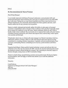 Letter Of Recommendation Without Addressee 10 Examples Of A Perfect Letter Of Recommendation
