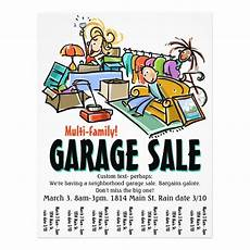 Garage Sale Flyers Examples Garage Sale Moving Sale Yard Sale Custom Flyer Zazzle Com
