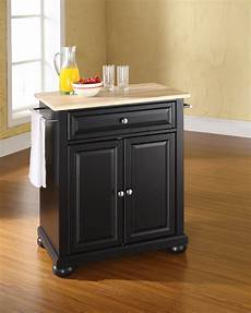 black kitchen islands the attractive black kitchen island completed by back