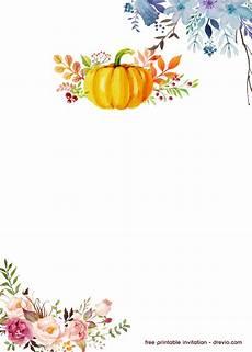 Cute Invitation Templates Free Printable Pumpkin Birthday Invitation Template Drevio