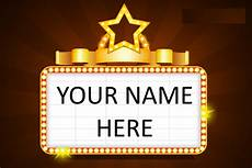 Name In Lights Generator Lesson 174 My Name In Lights Will S Writings