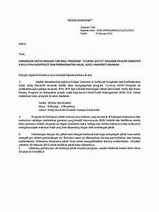 contoh surat jemputan juri