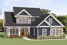 Home Design Story Coins Traditional House Plan With Two Story Family Room