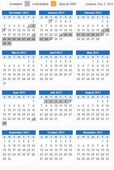 A Year Calendar Jquery Full Year View Calendar Stack Overflow