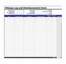 Mileage Tracking Template 30 Printable Mileage Log Templates Free ᐅ Template Lab
