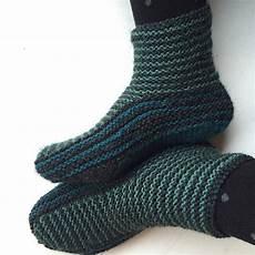 simple slipper booties free knitting pattern