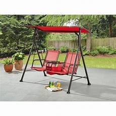 zero gravity swing mainstays big and 2 person bungee canopy porch swing