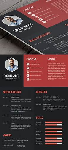 Professional Creative Resume Free Professional Cv Resume And Cover Letter Psd Templates