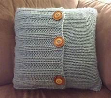 knitting pillow make bake and knit pillow
