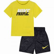 nike toddler boys clothes nike toddler boys 2 pc cotton jersey and split shorts