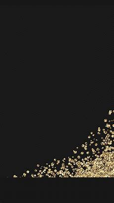 Iphone Wallpaper Black Gold by Black Gold Glitter Wallpaper Background Iphone