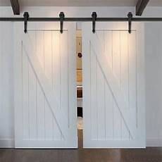 8 8 2 10 12 ft black wood door hardware sliding