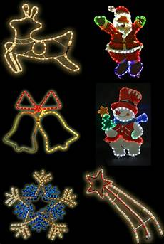 Christmas Rope Light Design Ideas Large Christmas Rope Light Christmas Decorations Multi