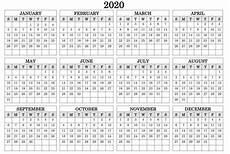 Calendar 2020 Office 2020 Calendar On One Page Printable Templates Calendar