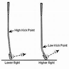 Golf Shaft Kick Point Chart Golf Tips Golf Circuit Blog