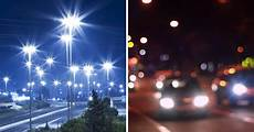 Why Do I See Halos Around Lights At Night Optics Why Do I See Three Beams When I Look To A