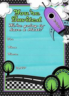 Invitation Cards For Party Kids Birthday Party Invitations To Print