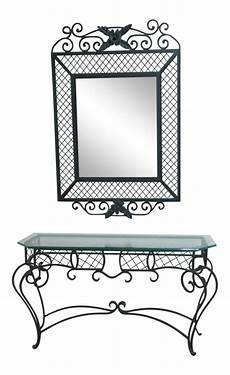 Mirror Sofa Table Png Image by Ethan Allen Wrought Iron Glass Top Mirror Console Table