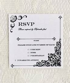 Rsvp Template Vintage Iron Amp Lace Square Rsvp Template Download Amp Print