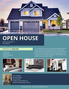Real Estate Open House Flyers 17 Real Estate Flyer Templates You Can Use To Boost Your Gci