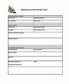 Work Order Format In Word 10 Work Order Templates Pdf Apple Pages Free
