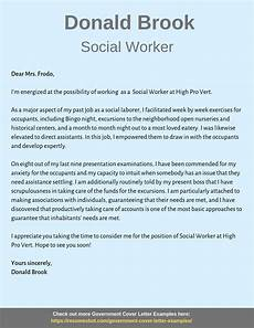 Social Services Cover Letter Examples Social Worker Cover Letter Samples Amp Templates Pdf Word