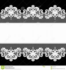 Wedding Background Black And White White Lace On Black Background Stock Vector Image 42093678