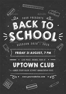 How To Prepare A Flyer 21 Back To School Flyer Templates Ai Pages Psd Word
